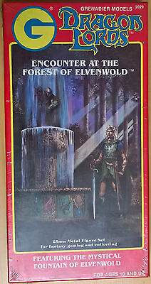 Grenadier Dragon Lords - 2029 Encounter at Forest of Elvenwold (Mint, Sealed)