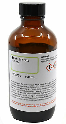 1 Silver Nitrate Solution 100ml - The Curated Chemical Collection