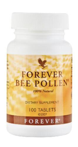 Forever Bee Pollen 100% Natural 100 tbls, Energy Booster,HALAL/KOSHER, 2023