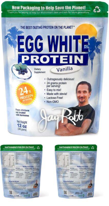 Jay Robb - Egg White Protein Powder, Outrageously Delicious,