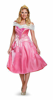 Deluxe Adult Aurora Costume Sleeping Beauty Princess Dress  - Princess Aurora Costume Adults