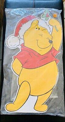 Vintage Disney Winnie The Pooh Christmas Decoration Outdoor Yard Art Plastic