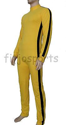 Bruce Lee Erwachsene Overall/Kostüm/Kostüm Sexy Outfit Body Kung Fu