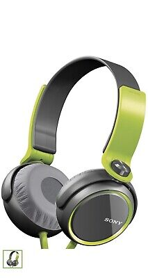Sony Stereo MDR-XB400 GRN Extra Bass Over The Head 30mm Driver Headphone Green for sale  Shipping to India