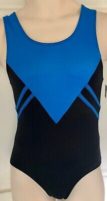 GK COMPETITION SHIRT ADULT SMALL ROYAL BLACK N/S TRADITIONAL LEG CUT Sz AS NWT!