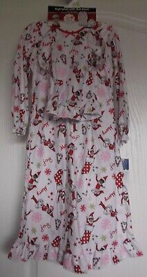 ELF ON THE SHELF NIGHTGOWN & MATCHING DOLL GOWN - SIZE 4 - NWT