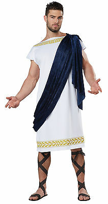 Grecian Toga Man Roman Greek 300 Adult Costume   - Greek Costume Men