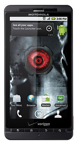 New Overstock Verizon Motorola Droid X MB810 Android Camera Smart Cell Phone
