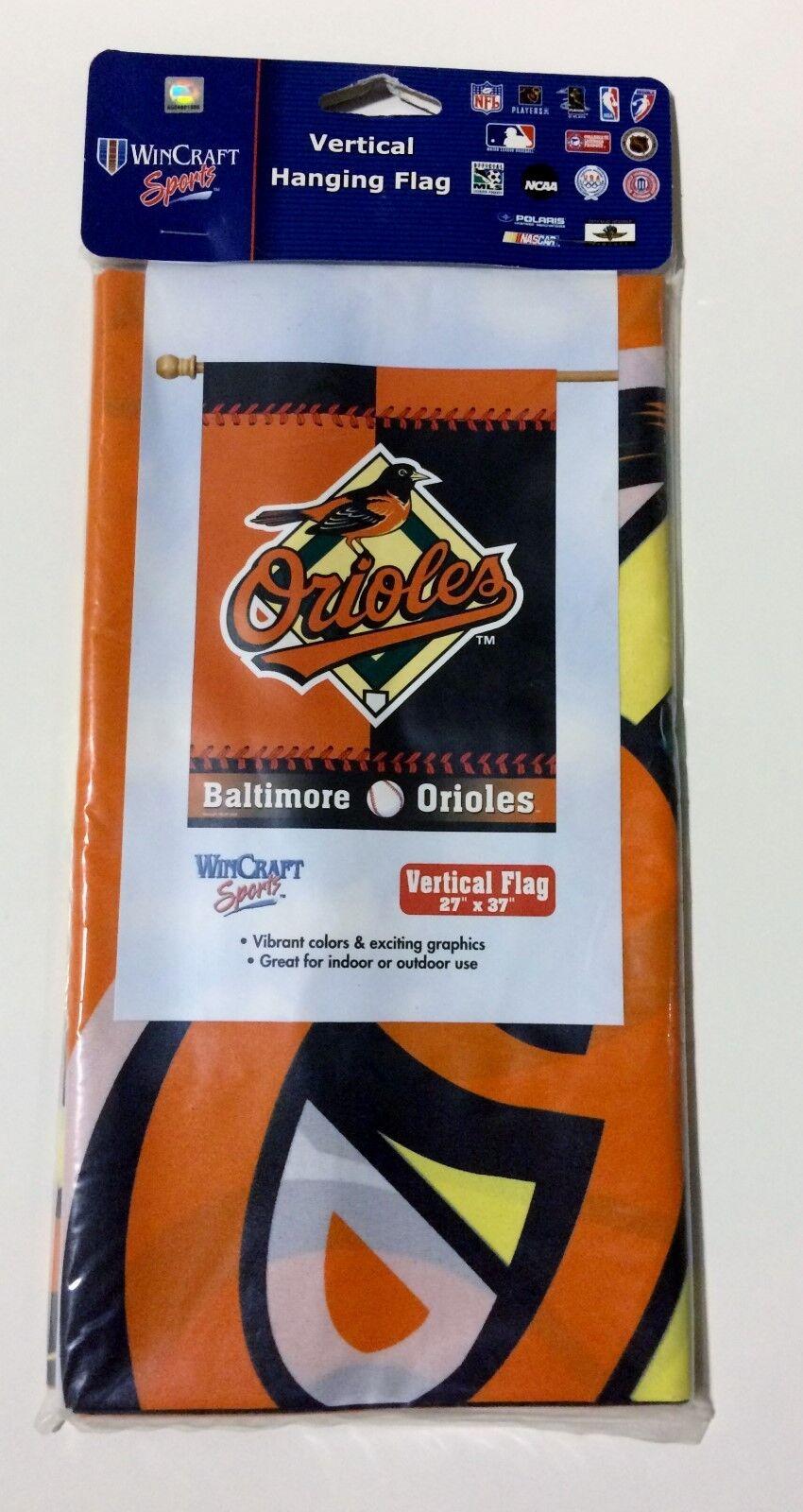 Baltimore ORIOLES MLB Baseball Vertical Banner Flag by Wincr
