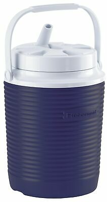 Rubbermaid FG156006MODBL 1 Gallon Blue Victory Thermal Jug Water Coolers