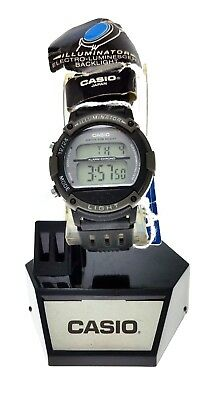 NEW Sport Ladies Casio Digital Watch LW-23H Black Resin 10 Year Battery 50M WR Casio Ladies 10 Year Battery
