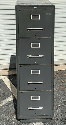 Cole Steel Industrial Era File Cabinet