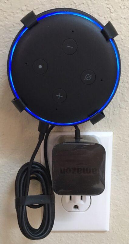 SturdyGrip™ Wall Mount White Ceiling Mount for Amazon Echo Dot 2nd Gen