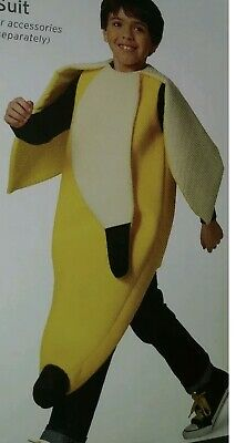 Kids Fruit Costume (Banana Costume Fruit Kids Youth Size Large XL 16-18 Target Foam)