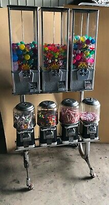 Candy Toy Candy Gumball Machine 6 Tops Beaver Coin