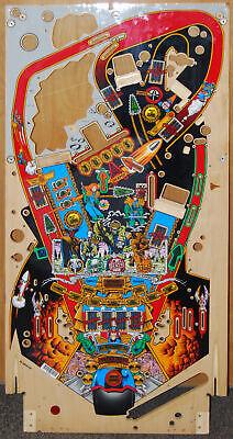 Bally Judge Dredd - Pinball Playfield NOS