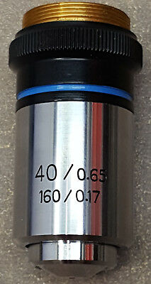 Microscope Objective Lens 400.65 1600.17 100957