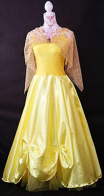 1950er -grace Kelly-Princess Belle-Fairytale Ballsaal Kostüm