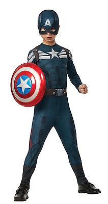 Captain America The Winter Soldier Halloween Costume Boys S (6)](The Winter Soldier Halloween Costume)