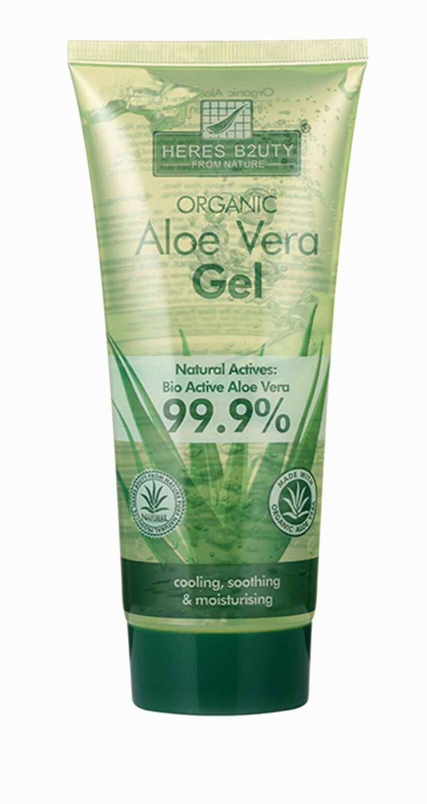 Aloe Vera 99,9 Bio Gel natürliche Feuchtigkeitscreme 200ml