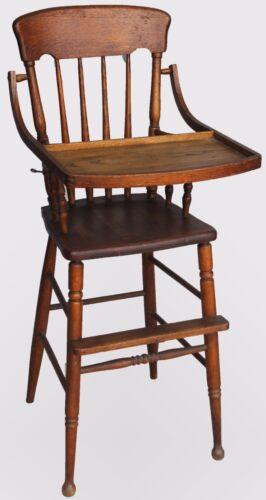 Antique Oak High Chair
