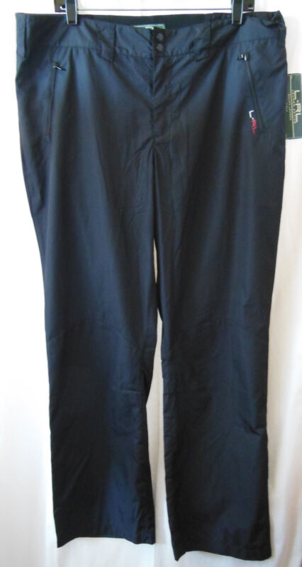 RALPH LAUREN LRL Black Water Resitant Active Golf Athletic Pants-Size 16-NEW-NWT