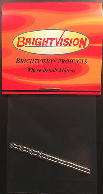 Brightvision Rivet Removal Drill Bit Set For Customs 1-72 Size - Small Bits Only