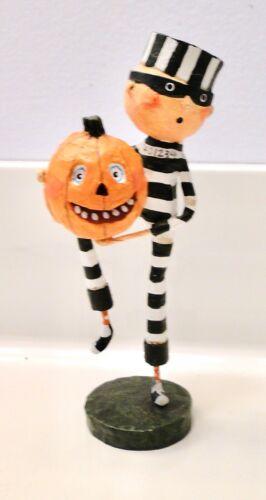 Halloween LORI MITCHELL Esc. Trading Co. PUMPKIN THIEF Figurine Jack-o-Lantern