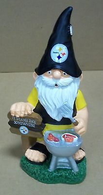 (Pittsburgh Steelers Garden Gnome Tailgate)