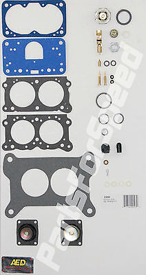 AED 2300 Holley Rebuild Kit 2 Barrel Carb 350cfm 500cfm