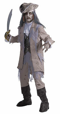 Zombie Pirate Adult Mens Costume Scary Creepy Island Theme Party Halloween