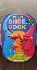 Assorted Children's Books: Shoelace Tying, Trucks & Cars