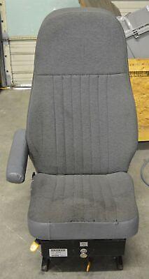 Seats Inc. Magnum 100 Bus Air Suspension Seat Tuff-tex Black