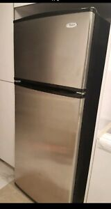 Mint Maytag stainless steel refrigerator, delivery available