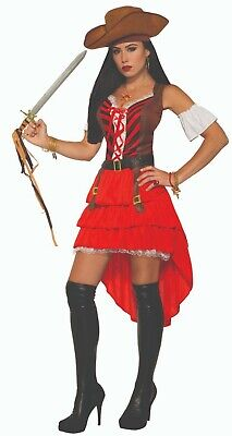 Forum Novelties Pirate Vixen Buccaneer Sexy Adult Womens Halloween Costume 82651 (Pirate Vixen Costume)