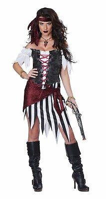 Pirate Beauty Buccaneer Wench Women Costume