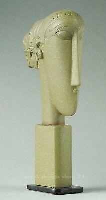 "AMEDEO MODIGLIANI - Museums Skulptur in Geschenkarton - Figur - ""TÊTES"""
