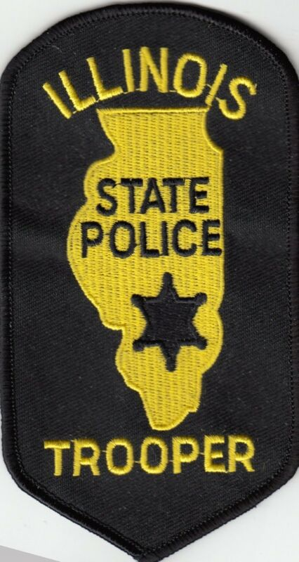 ILLINOIS STATE POLICE TROOPER (OLDER VERSION) IL PATCH