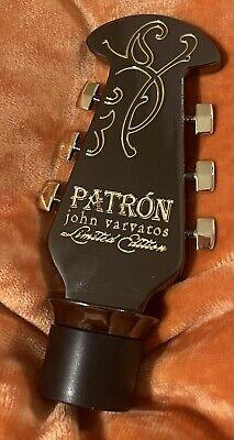 2012 John Varvatos Patron Limited Edition Guitar Head Bottle Stopper