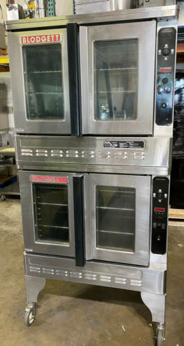 BLODGETT DFG 100-3 (Propane) DOUBLE CONVECTION OVEN (Fully Refurbished)