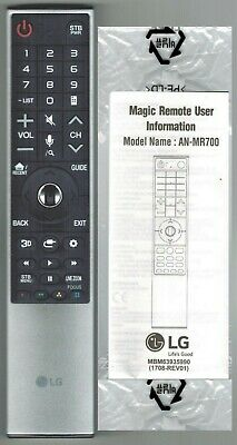 New Genuine LG Signature Magic TV Remote Control AN-MR700 OLED65B6P OLED75G6P