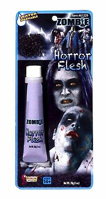 Horror Face Makeup (Zombie Horror Flesh Grey Horror Face Makeup &)
