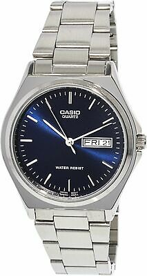 Casio Men's Core MTP1240D-2A Blue Stainless-Steel Quartz Fashion Watch