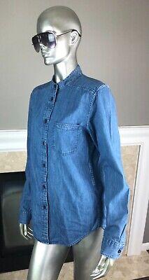 Nwt Filson Indigo Blue Single Chest Pocket Denim Shirt