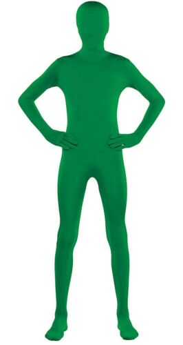 Green Morph Party Suit Full Body Costume Teen Small up to 4