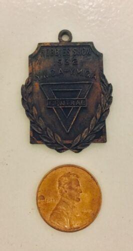 Vintage YWCA  /  YMCA Hobbies Show Bronze Medal 1932