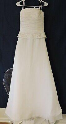 Bellissima Size 6 Ivory Wedding Dress 10 Style 3718