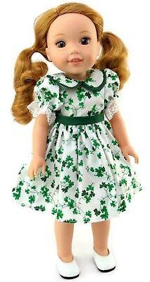 St Patrick's Day Dress  fits 14.5