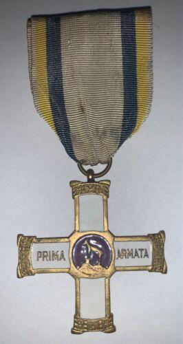 RARE ORIGINAL WW1 ITALY COMMEMORATIVE CROSS MEDAL 1st ARMATA 1st ARMY FASSINO