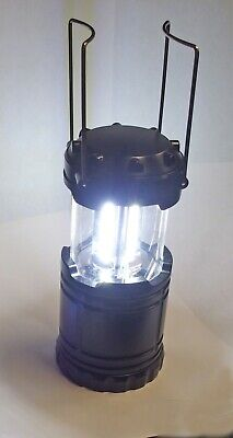 LED Camping Lantern 400 lumen Cob Light Ultra Bright Collapsible Lamp Portable